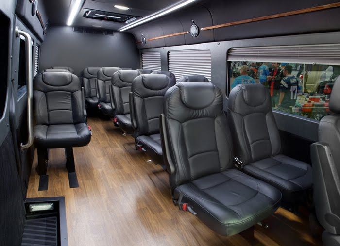 Sprinter Mini Coach Interior W Wood Flr Rear Dav El